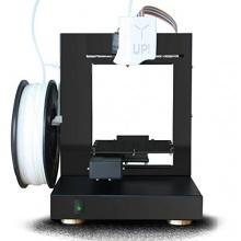 Up Plus 2 Black 3D Printer Drucker Bild 1