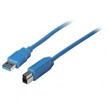 Kabelbude-USB 3.0 Anschlußkabel Druckerkabel Kabel A/B 5 m Bild 1