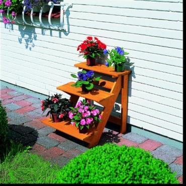 PROMEX Blumentreppe, klein, imprägniert Bild 1