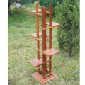 Blumentreppe Holz Ständer Halter Bild 1