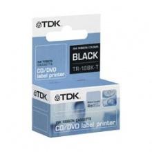 TDK schwarzes Farbband für TDK-Etikettendrucker Bild 1