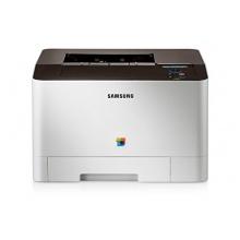 Samsung CLP-415N Farbe Laserdrucker USB grau Bild 1