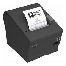 Epson TM T88V Quittungsdrucker SW Thermozeile 8cm Rolle Bild 1