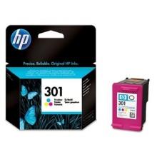 HP 301 cyan/magenta/gelb Original Tintenpatrone Bild 1