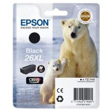 Epson T2621 Tintenpatrone Eisbär, Singlepack, schwarz XL Bild 1