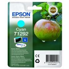 Epson T1292 Tintenpatrone Apfel, Singlepack, cyan Bild 1