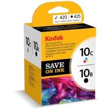 Kodak Tintenpatronen Combo Pack, 10B und 10C, schwarz Bild 1