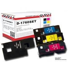 4 x Kompatibler Toner für Dell C1760 / C1765 Bild 1