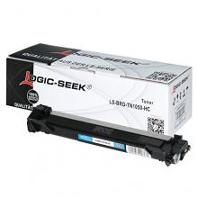 Logic-Seek Toner für Brother TN-1050, 1500 Seiten, schwarz Bild 1