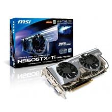 MSI N560GTX-Ti Twin Frozr II/OC Grafikkarte  Bild 1