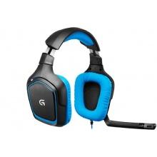 Logitech G430 Gaming Headset für PC und PS4 blau Bild 1