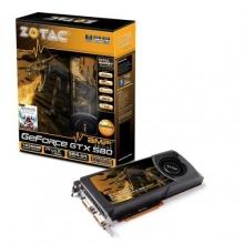 Zotac NVIDIA GTX580 AMP Grafikkarte aktiv Bild 1