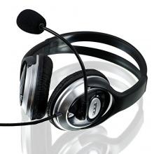 CSL S-085 Multimedia Headset Pro HQ 960 Silber/Schwarz Bild 1