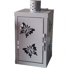 MQ Metall Laterne Gartenlaterne Dekoration Bild 1