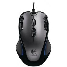 Logitech G300 Gaming Maus schnurgebunden grau-schwarz Bild 1