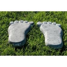 Trittsteine Dekosteine für Ihren Garten Fuß 4er Set Stein Bild 1