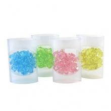 Dekosteine Kunststoff 80 g 4 Farben Bild 1