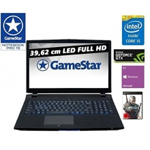 One GameStar Notebook Pro 15 Intel Core i5-4460 Bild 1