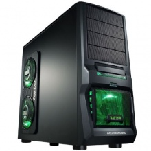 MS-Tech CA-0300 Hornet NG Gaming Midi Tower PC Gehäuse rot Bild 1