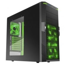 Sharkoon T9 Value Green PC-Gehäuse ATX Midi Tower Bild 1