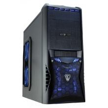 CiT Vantage Gaming Gehäuse, mit 4Lüfter Blau Bild 1