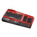Mad Catz S.T.R.I.K.E.TE Mechanisches Gaming Keyboard rot Bild 1