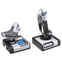 Saitek X52 Flight Control System Joystick für PC Bild 1