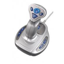 Speedlink Wasp² Flight- und Joystick PC  silber blau Bild 1