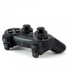 CSL Wireless USB Gamepad C210 PC Dual Controller schwarz Bild 1