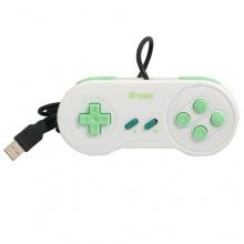2-TECH USB Gamepad ergonomisch SLIM, SNES Style Bild 1