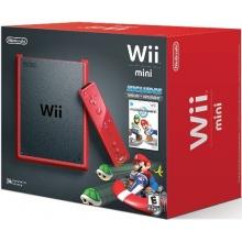 Wii - Konsole mini Mario Kart Bundle Bild 1