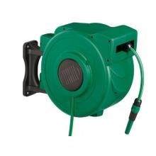 FLORABEST® Wand-Schlauchbox mit Automatik für komfortables Auf- und Abrollen Bild 1