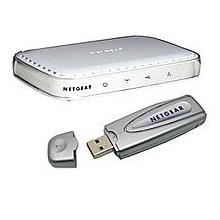 Netgear DG632B GR ADSL-Modem Router Bild 1