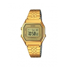Casio Damen Casio Collection Digital Quarz Edelstahl LA680WEGA-9ER Bild 1
