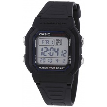 Casio Collection Unisex Digital Quarz W-800H-1AVES Bild 1