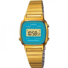 Casio Collection Damen Digital Quarz LA670WGA-2DF Bild 1