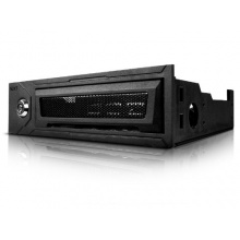 NZXT Bunker USB Security Hub 5,5 Zoll schwarz Bild 1
