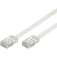 Wentronic CAT5e Netzwerkkabel 10m weiß Bild 1
