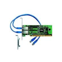 Intel Pro/1000MT Netzwerkkarte PCI-e 2x LAN Bild 1