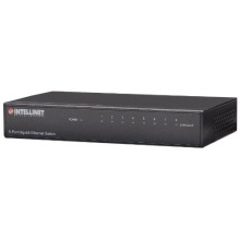 INTELLINET 8Port Gigabit Ethernet Switch Metall sc Bild 1