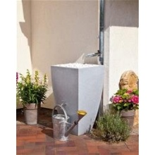 Regentonne / Regenwassertank 200 L REWATEC Modena granit Bild 1