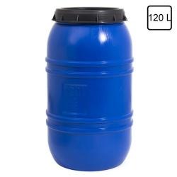 regentonne 120 l lager material beh lter blau test. Black Bedroom Furniture Sets. Home Design Ideas