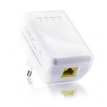 CSL 300 Mbit WLAN WiFi Repeater WLAN Access Point WLAN Verstärker weiß Bild 1