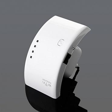 Gimbal 300Mbit 2.4GHz Wifi Wireless Repeater Wlan Weiß Bild 1