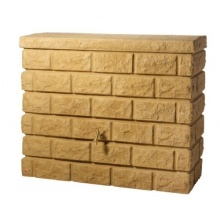 Garantia Rocky Wandtank 400 ltr. Sandstone inkl. Auslaufhahn Bild 1