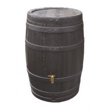 Vino-Regenfass 250 L dkl.braun m.Deckel Bild 1