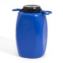 Regentonne 30 L Lager Material Behälter blau Bild 1
