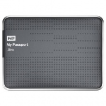 WD My Passport Ultra externe Festplatte 2TB 2,5 Zoll titanium Bild 1