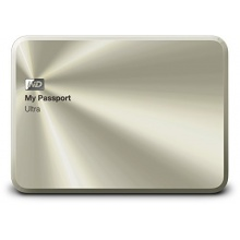WD My Passport Ultra  Festplatte 2TB 2,5 Zoll gold Bild 1