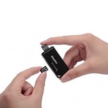 EasyAcc SuperSpeed Multi-in-1 USB 3.0 Kartenleser Schwarz Bild 1